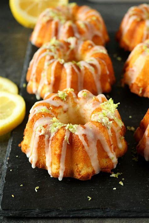 Mini apple bundt cake recipe. Mini Lemon Bundt Cakes, Mini Lemon Bundtlette, how to make ...