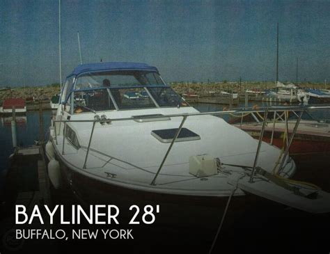 Pontoon Boats For Sale Buffalo Ny by For Sale Used 1984 Bayliner Contessa 2850 In Buffalo New