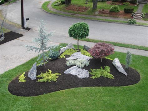 easy landscaping designs simple landscape designs with rock beds google search landscaping ideas pinterest in the