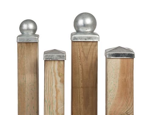 fence post toppers galvanised fence post cap 3725