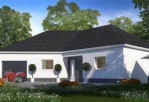 Maison Plain Pied En L : plan maison individuelle 3 chambres 48 habitat concept ~ Melissatoandfro.com Idées de Décoration