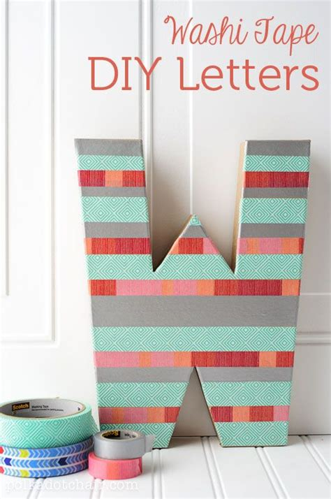 diy washi tape decorating projects   love