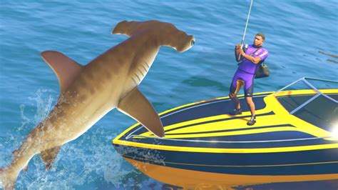 gta 5 mods deadliest catch fishing mod catching sharks and fish gta 5 pc mods youtube
