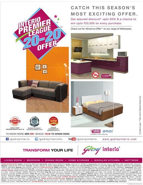 godrej interio exciting offers mumbai  delhi