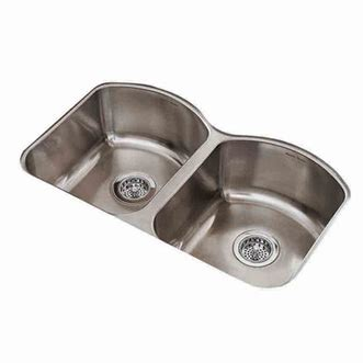 eljer stainless steel kitchen sinks american standard sink parts faucets reviews