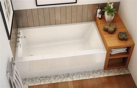 maax rubix 60 quot x 30 quot x 19 quot acrylic alcove bathtub with