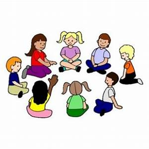 Fun Time clipart circle time - Pencil and in color fun ...