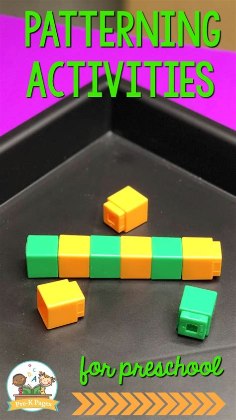 pattern activities for preschool math 644 | How to Teach Patterning Skills