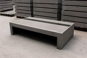 meuble de jardin en beton cire tres original meuble et With meuble en beton cire