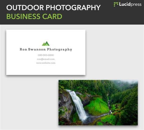 14830 outdoor business photography 30 creative business card ideas designs lucidpress