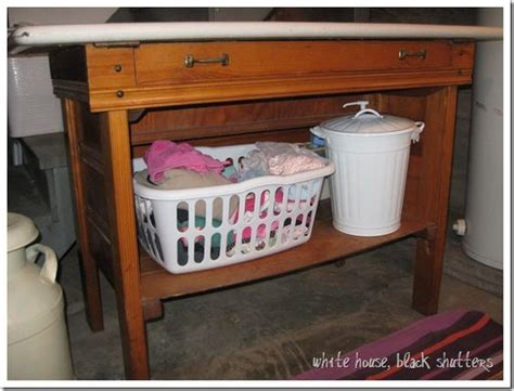 laundry room table with storage pinterest the world s catalog of ideas