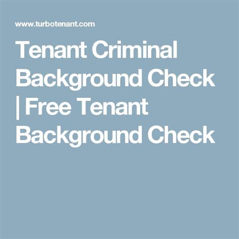 Tenant Credit And Background Check Best 25 Tenant Background Check Ideas On