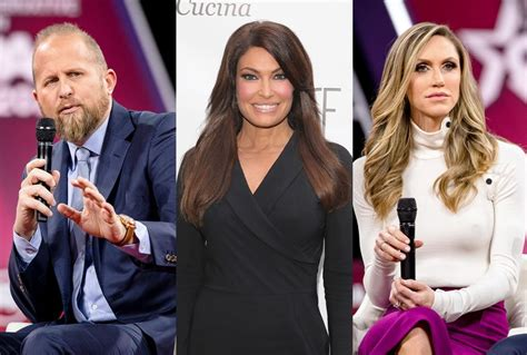 trump campaign brad parscale wife eric girlfriend guilfoyle jr hiding don dollar kimberly lara appears payments still report payroll 15k