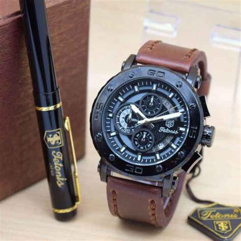 jual tali jam q jual jam tangan tetonis original pria tali kulit harga murah