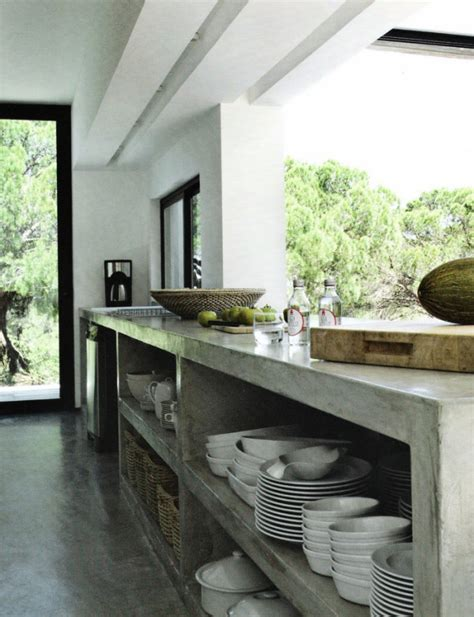 Polished Concrete Kitchen on Pinterest   Polished Concrete