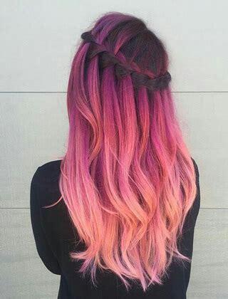 kolorowe wlosy  modne fryzury   dla kazdego