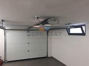 portes de garage en aluminium motorises ou manuels a nice With moteur porte de garage nice