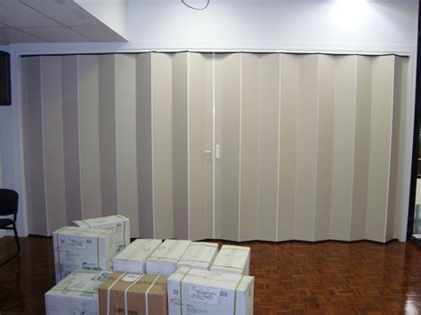 townsville folding concertina doors acoustic sound rated doors blinds awnings shutters