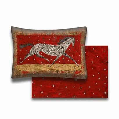 Yankee Horse Arabian Pillow Dandy Doodle Oldwoodsigns