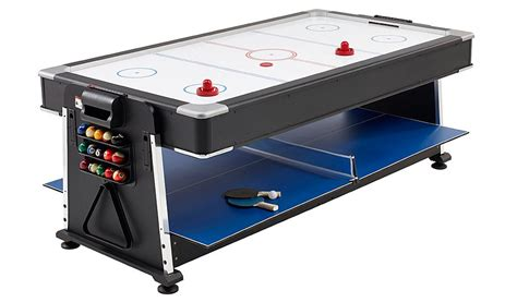 3 in one game table 3 in 1 pool air hockey table tennis multi game table