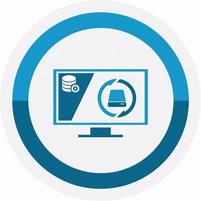 Services Data Service Backup Recovery Support Icon