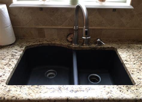 black granite sink cleaner hawk haven