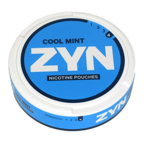 zyn pouches mint cool nicotine tobacco pouch 6mg valued earn points