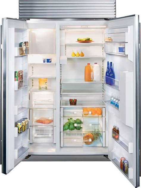 "Sub Zero BI 42SD/O 42"" Built In Side by Side Refrigerator"