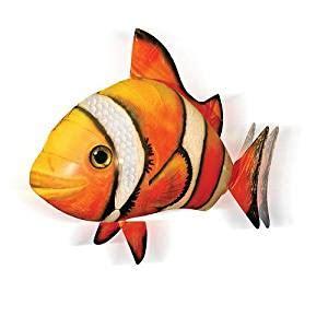 Pesce Volante Radiocomandato Air Swimmers Pesce Pagliaccio Volante Radiocomandato