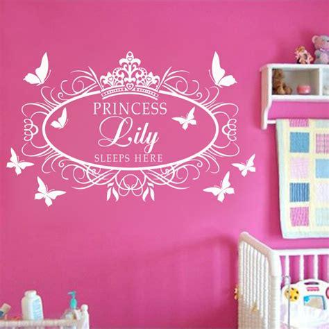 stickers muraux chambre b wall design ideas apllied princess crown wall