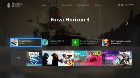 xbox  dashboard update lets players customise