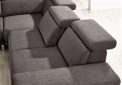 canapé cuir 6 places canapé d 39 angle 6 places profondeur réglable appuies tête