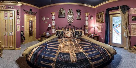 estates egyptian mummy room king sized fun