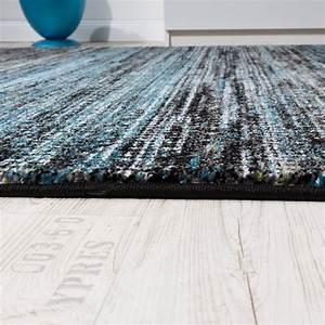 Teppich Grau Blau : wohnzimmer teppich spezial melierung t rkis grau design teppiche ~ Indierocktalk.com Haus und Dekorationen