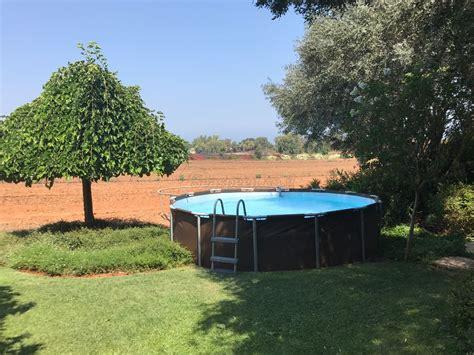 frame pool 366x100 בריכת שחייה bestway rattan power steel frame pools 366x100 כולל משאבה ומסנן בריכות שחייה מסדרת