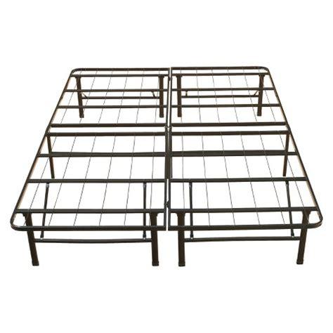 metal bed frames target eco metal platform base bed frame 14 quot target