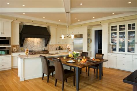 dining room and kitchen ideas kitchen and dining room combination makeovers matakichi