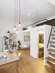Apartment Einrichten Ideen : die kleine wohnung einrichten mit hochhbett freshouse ~ Markanthonyermac.com Haus und Dekorationen