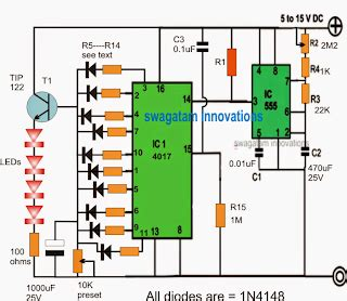 Fading Led Light Timer Circuit For Fish Aquariums