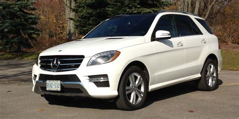 suv review  mercedes benz ml  bluetec matic driving