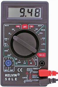 Kelvin U00ae 50le Multimeter With Buzzer