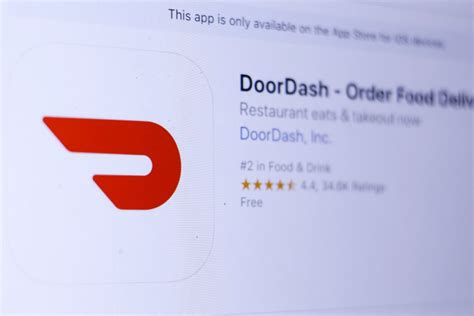 delivery startup doordash almost triples valuation to 4b my finance tale