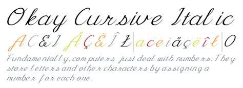 cursive italic fontscom