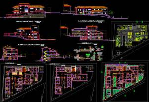 1 story floor plans modern hospital detailing autocad dwg designer world