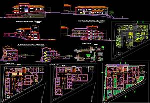 Modern Hospital Detailing autocad DWG