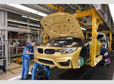 BMW Werk München Produktion, Montag Montage des Frontend