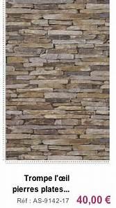 Papier Peint Imitation Pierre Naturelle : papier peint imitation pierre decoration home 2016 ~ Nature-et-papiers.com Idées de Décoration
