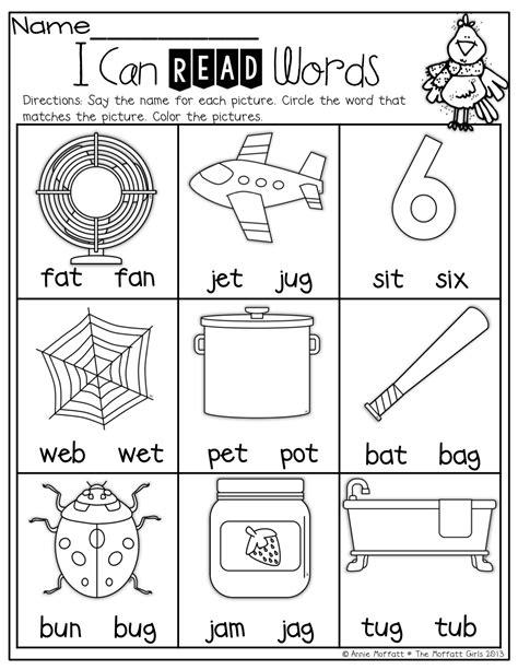 worksheet cvc worksheets  kindergarten worksheet fun