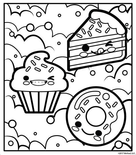Unicorn Donut Kleurplaat by Free Printable Coloring Page Coloring Printable