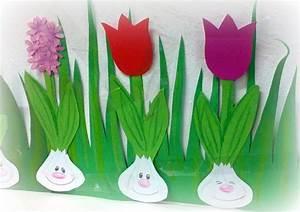 Blumen Basteln Vorlage : crafts by mirka fr hling im kinderpavillon ~ Frokenaadalensverden.com Haus und Dekorationen
